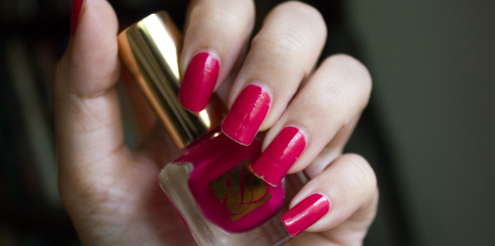 Estée Lauder : #04 Tumultuous Pink / Printemps Eté 2014 - Joli rose !