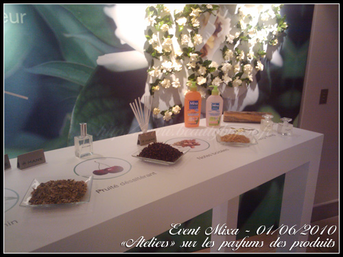 event mixa bio parfums