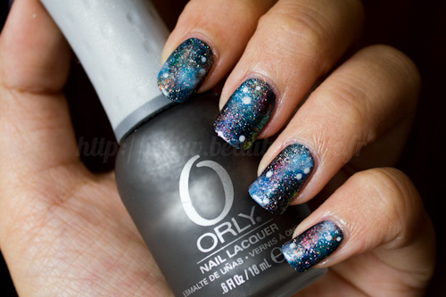 Galaxy Nails, version 2