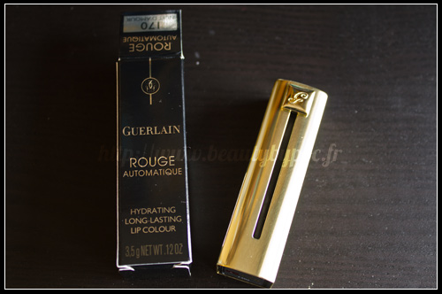 Guerlain Rouge Automatique 170 Nuit d'Amour Belle de Nuit Holiday 2011