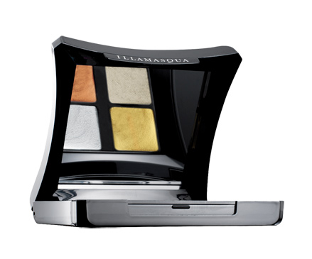 Illamasqua Body Electrics Liquid Metal 4 Colour Palette