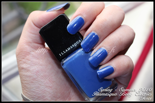 Illamasqua Force - Body Electrics Spring Summer 2010