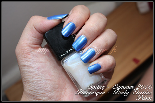 Illamasqua Prism Body Electrics Spring Summer 2010