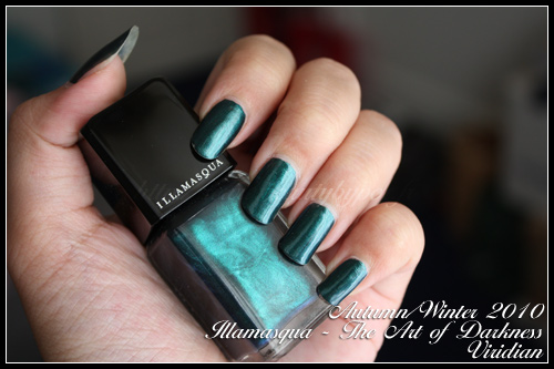 Illamasqua Viridian The Art of Darkness Autumn Winter 2010