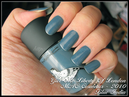 MAC Cosmetics Blue India Give Me Liberty Of London