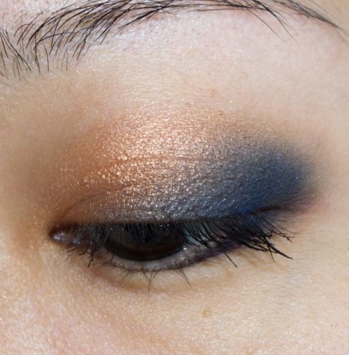 Make-up #103 : Doré et Bleu avec la Vice 3 d'Urban Decay