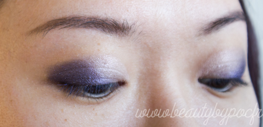 Make-up #108 : Du bleu violet avec la Vice 4 d'Urban Decay
