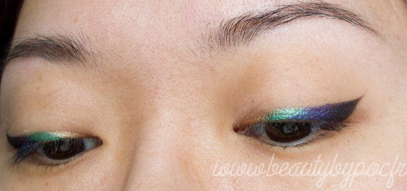 Make-up #109 : Liner multicolore avec Urban Decay !