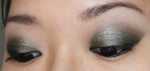 Make up Smoky Noir et Bronze
