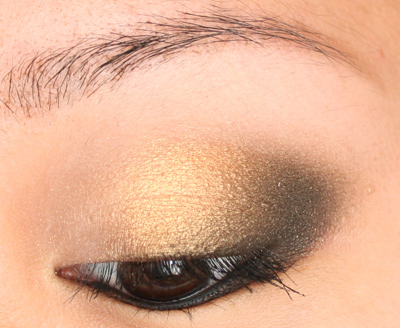 Make-up 35 Bourjois Trio Smoky Eyes n°10 Gold Smoking