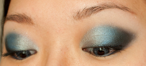 Make-up #39 Yeux Gris & BOS III NYC