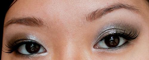 Make Up #42 : Smoky Argenté pour les fêtes