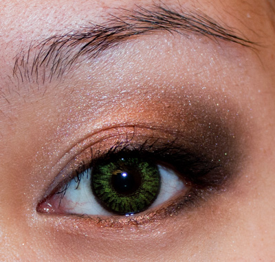Make-up #44 - Shiseido & Lentilles Vertes