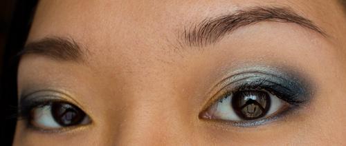 Make-up #51 : Or & Bleu
