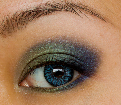 Make-up #58 : True Colors + Soflens Natural Colors Pacific