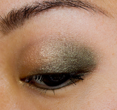 Make-up #63 : Ombre Stellaire Duo Emerald & Gold de Thierry Mugler