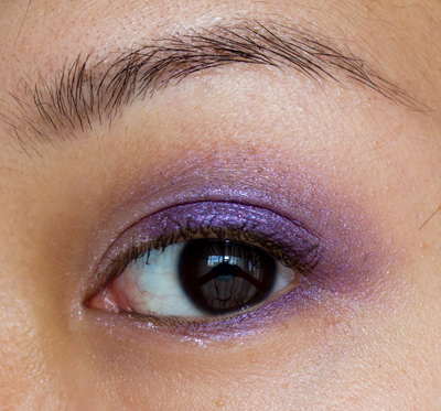 Make-up #67 : Ombre Crème Satinée Shiseido Mist & Purple Dawn