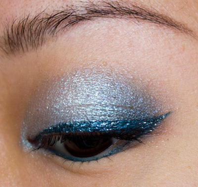 Make-up #72 : Du bleu ! - MU de fêtes #3 :)