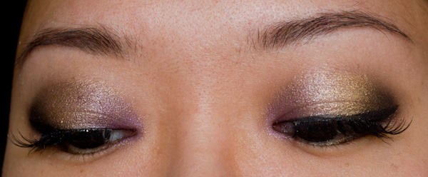 Make-up #82 : Un maquillage de fêtes avec la Vice Palette d'Urban Decay