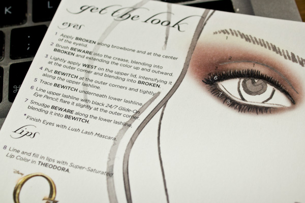 Make-up #85 : Theodora by Urban Decay