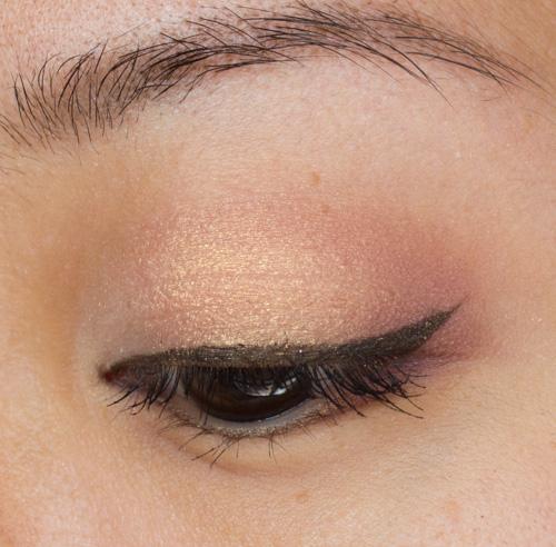 Make-up #89 : De la douceur avec la Shiseido Ombre Doux Eclat Trio RD299