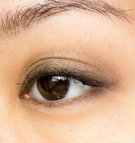 Make-up #93 : De la simplicité avec la Clarins Ombre Minérale 4 Couleurs Forest