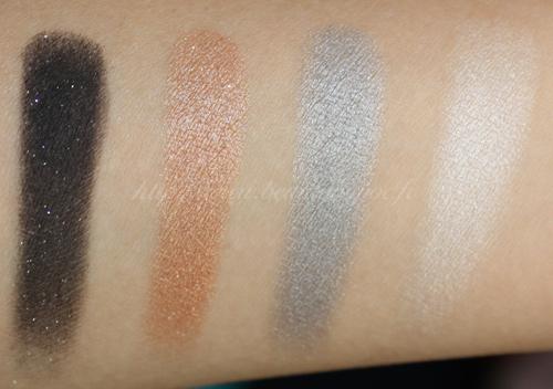 Make Up For Ever Palette 4 Fards Rock For Ever Noël 2010