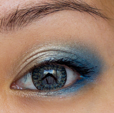 Make-up #47 : GEO Nudy Golden Blue & BOS III New York