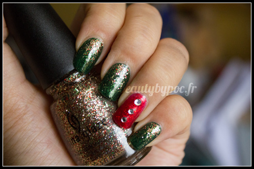 Manucure de Noel - China Glaze - Let it Snow
