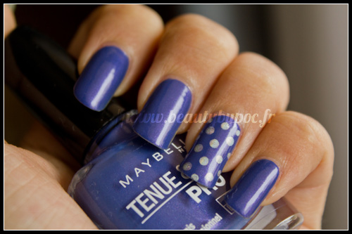 Gemey-Maybelline : #645 Viva Blue Violet / Violet Village - New York District
