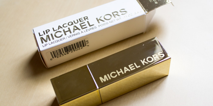 Michael Kors : Lip Lacquer / Vernis à Lèvres Bombshell