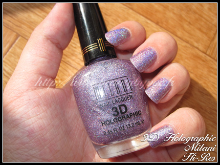Milani 3D Holographic Nail Lacquer Hi-Res