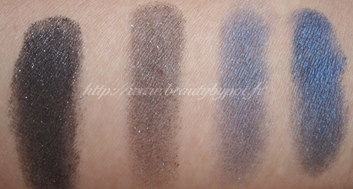 Milani Runway Eyeshadows - Black Out & Blue Lagoon