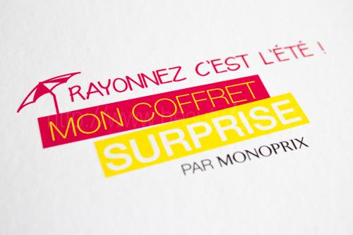 Mon Coffret Surprise par Monoprix : Rayonnez c'est l'été !
