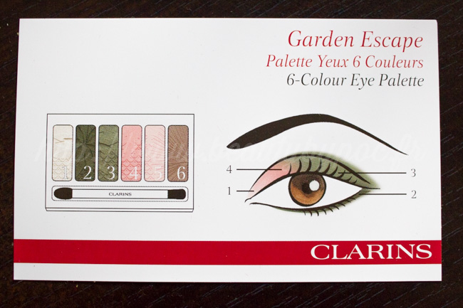 Clarins Garden Escape