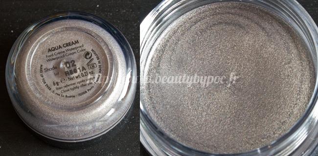 Make Up For Ever Kit Wild & Chic 10 Aqua Cream #02 Acier Noël 2011