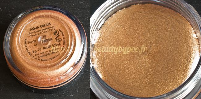 Make Up For Ever Kit Wild & Chic 10 Aqua Cream #12 Cuivre Doré Noël 2011