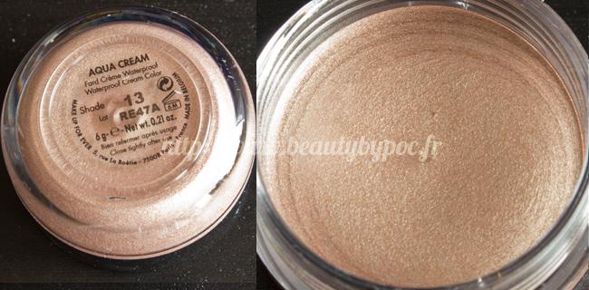 Make Up For Ever Kit Wild & Chic 10 Aqua Cream #13 Beige Chaud Noël 2011