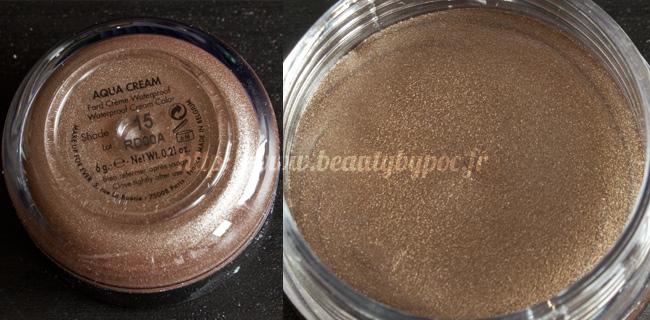 Make Up For Ever Kit Wild & Chic 10 Aqua Cream #15 Taupe Noël 2011