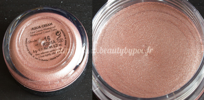 Make Up For Ever Kit Wild & Chic 10 Aqua Cream #16 Beige Rosé Noël 2011