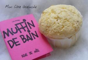 Muffin de bain : Rêve de Miel