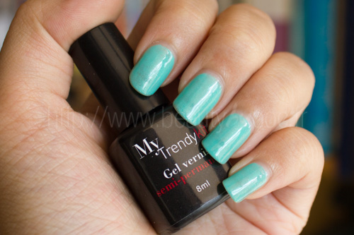 My Trendy Kit : Gel Manucure Kit + Vernis 0601 Jade
