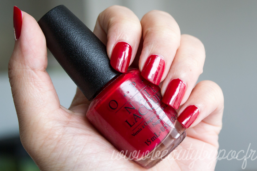 OPI : Amore at the Grand Canal - Venice Collection / Un beau classique