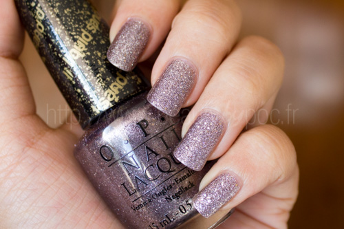 OPI : Baby Please Come Home (Liquid Sand) - Collection Mariah Carey / Noël 2013
