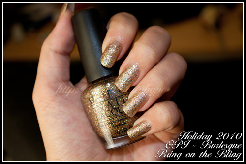 OPI Bring on the Bling - Collection Burlesque - Hiver 2010