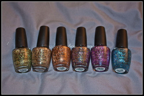 OPI Burlesque Holiday 2010