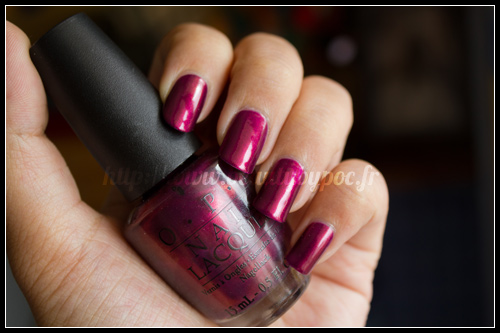 OPI Diva of Geneva Swiss Collection Automne 2010