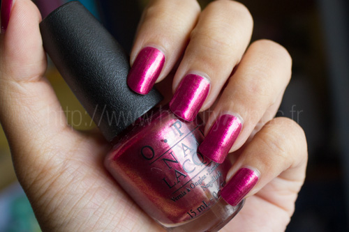 OPI : Embarca-Dare Ya! - Collection San Francisco / Automne 2013