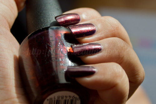OPI : Every Month is Oktoberfest - Germany Collection / Automne 2012