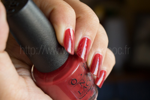 OPI : First Date at the Golden Gate - Collection San Francisco / Automne 2013